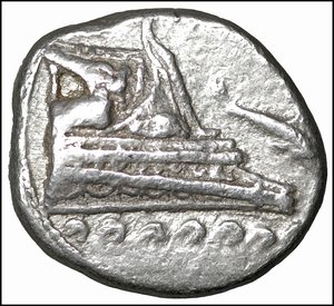 reverse: Lycia, Phaselis AR Stater. Circa 4th century BC. 10.30 gr. – 27 mm, 5h. O:\ Prow of galley to right, fighting platform decorated with seated griffin; waves below, dolphin to right. R:\ Stern of galley left; ΦA[Σ] above, dolphin to left below. Heipp-Tamer Series 6; unlisted variety; cf. CNG e395, lot 173; cf. Roma e47, 310. Rare. XF
