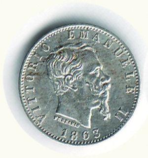 obverse: Vittorio Emanuele II - 20 Cent. 1863 MI. Vittorio Emanuele II - 20 Cent. 1863 MI FDC/q.FDC