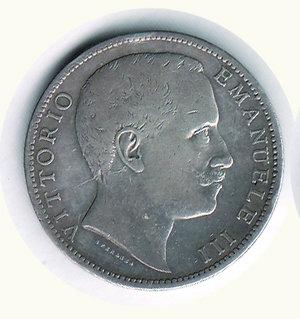 obverse: Vittorio Emanuele III - 2 Lire 1906. Vittorio Emanuele III - 2 Lire 1906 BB/BB+