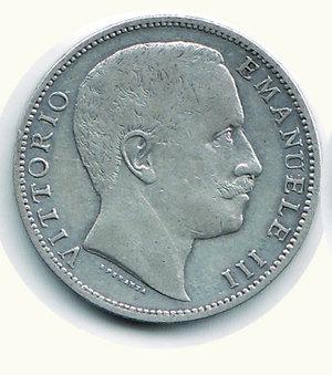 obverse: Vittorio Emanuele III - 2 Lire 1907. Vittorio Emanuele III - 2 Lire 1907 BB/BB+