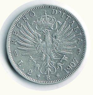 reverse: Vittorio Emanuele III - 2 Lire 1907. Vittorio Emanuele III - 2 Lire 1907 BB/BB+