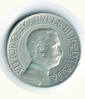 obverse: Vittorio Emanuele III - Lira 1908. Vittorio Emanuele III - Lira 1908 BB