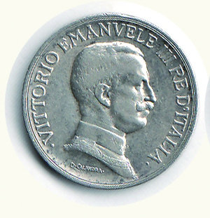 obverse: Vittorio Emanuele III - Lira 1916. Vittorio Emanuele III - Lira 1916 BB+/q.SPL