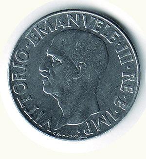 obverse: Vittorio Emanuele III - Lira 1943. Vittorio Emanuele III - Lira 1943 R - FDC