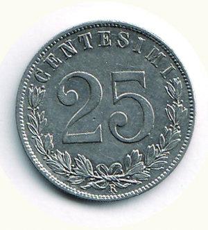 obverse: Vittorio Emanuele III - 25 Cent. 1903. Vittorio Emanuele III - 25 Cent 1903 q.FDC