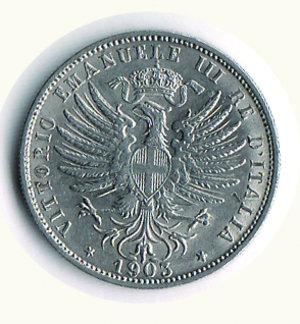 reverse: Vittorio Emanuele III - 25 Cent. 1903. Vittorio Emanuele III - 25 Cent 1903 q.FDC