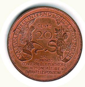 obverse: Vittorio Emanuele III - 20 Cent. 1906