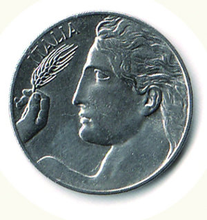 obverse: Vittorio Emanuele III - 20 Cent.