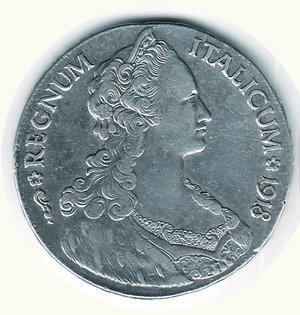 obverse: Vittorio Emanuele III - Tallero italico 1918. Vittorio Emanuele III - Tallero italico 1918 BB/SPL