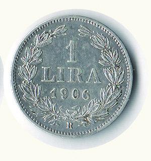 reverse: SAN MARINO - Vecchia monetazione - Lira 1906. SAN MARINO - Vecchia monetazione - Lira 1906 q.FDC