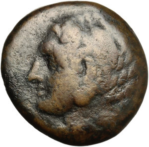 obverse: Macedon. AE 22 mm