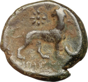reverse: Ionia, Miletos. AE 17 mm., III secolo a.C