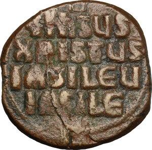reverse: Follis anonimo, ca 976-1028