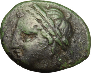 obverse: Antiochia. AE 19 mm., II secolo a.C