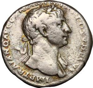 obverse: Traiano (98-117). Denario