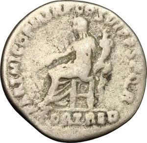 reverse: Traiano (98-117). Denario