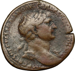 obverse: Traiano (98-117). Sesterzio