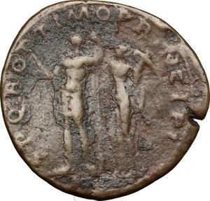 reverse: Traiano (98-117). Sesterzio