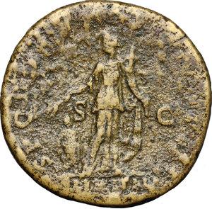 Traiano (98-117). Sesterzio