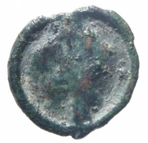 reverse: Bizantini.Romano IV Diogenes (?) (1068-1071). Cherson D/ P ω monogramma R/ ?.Peso 2,10 gr.Diametro 19,00mm.BB