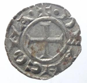 obverse: Zecche Italiane. Ancona. Repubblica monetazione autonoma. Denaro XII e XIII secolo.Peso 0,60 gr. BB+.^^^