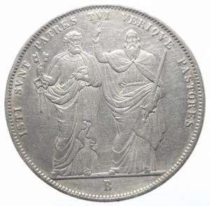 reverse: Zecche Italiane. Bologna. PIO VIII (1829-1830). Scudo 1830. Pag. 126. Mont. 02. AG. R BB\BB+.>>>.