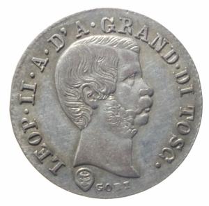 obverse: Zecche Italiane. Firenze. Leopoldo II (1824-1859). 10 quattrini 1858. Gig.67. AG.SPL+.^^^