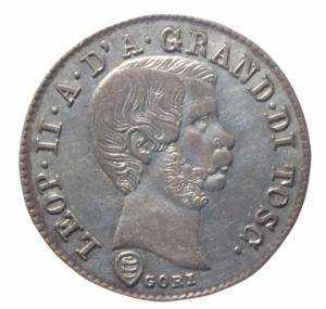obverse: Zecche Italiane. Firenze. Leopoldo II (1824-1859). 10 quattrini 1858. Gig.67. AG.qSPL.^^^