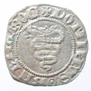 reverse: Zecche Italiane.Milano. Bernabò Visconti (1378-1385). Sesino. CNI 27/35. Cr. 5/B. MIR 114/2. AG. g. 1.03 mm. 19.50 Bel SPL.