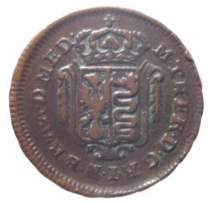obverse: Zecche Italiane. Milano. Maria Teresa d Asburgo. Mezzo soldo 1777.Peso 3,55 gr.BB.^^^
