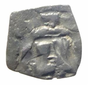 obverse: Zecche Italiane. Pisa. A nome di Federico I. 1150-1312. Denaro. AG. D/ F. R/ PISA. Biaggi 1930. Peso 0.56 gr. BB. NC.