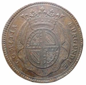 reverse: Medaglie. Francia. Luigi XV. Burgundia. Gettone 1728. COMITIA BURGUNDIAE ROBUR ET DECUS NOVUM. Peso 9,55 gr. Diametro 31,00 mm. SPL.