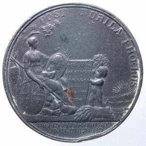reverse: Medaglie.Gran Bretagna.Cornwallis Marquis. POST NUBILA PHOEBUS.Peso 31,60 gr.Diametro 36,00 mm.BB.^^^