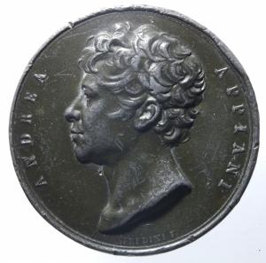 obverse: Medaglie.Andrea Appiani.1764,MONVM ERETTO.Peso 59,65 gr.Diametro 42,00 mm.BB.^^^