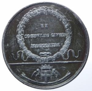 reverse: Medaglie.Genova.1829 Giovanni Migliara.EX CONSVLTO CIVICO.Peso 31,25 gr.Diametro 40,00 mm.BB.^^^