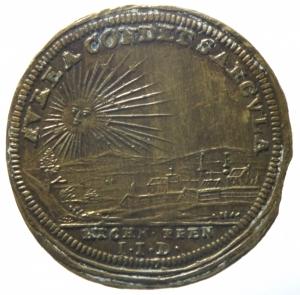 reverse: Medaglie.Francia Luigi XV.Gettone.Luigi XV Re dei francesi e della Navarra.SPL.^^^