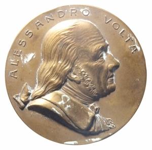 obverse: Medaglie.Circolo Alessandro Volta.XXV anniversario dalla morte.qSPL.^^^
