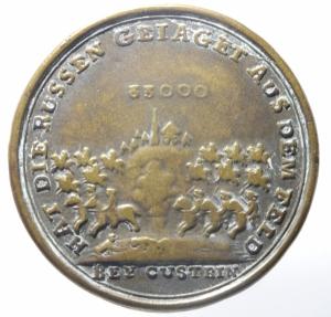 reverse: Medaglie.Federico il Grande 1758.Peso 15,40 gr.Diametro 40 mm.BB.^^^