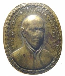 obverse: Medaglie.San Ignazio Loiola e San Francesco Borgia.Peso 24,00 gr. qBB.^^^