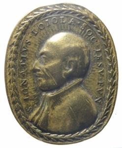 reverse: Medaglie.San Ignazio Loiola e San Francesco Borgia.Peso 24,00 gr. qBB.^^^