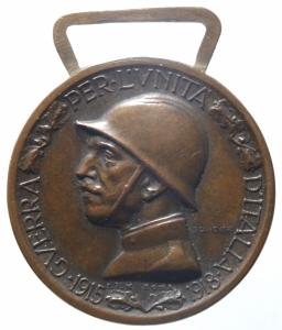 reverse: Medaglie.Vittorio Emanuele III.Coniata nel bronzo nemico.SPL.^^^