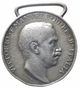 obverse: Medaglie.Vittorio Emanuele III.Guerra Italo turca.BB.^^^