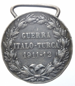 reverse: Medaglie.Vittorio Emanuele III.Guerra Italo turca.BB.^^^
