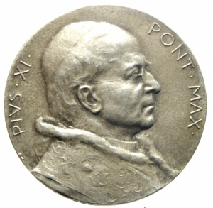 obverse: Medaglie.Pio XI.Guardia Palatina d Onore 1938.SPL.>>>