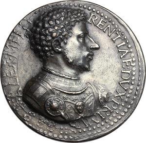 Firenze.  Alessandro de  Medici (1531-1537), primo duca di Firenze.. Medaglia