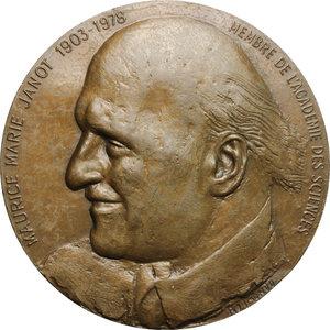 Maurice Marie Janot (1903-1978), chimico, biologo e farmacologo francese. . Medaglia Accademia Nazionale di Medicina e Accademia Nazionale di Farmacia per la morte