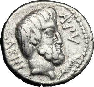 L. Titurius L. f. Sabinus. . AR Denarius, 89 BC