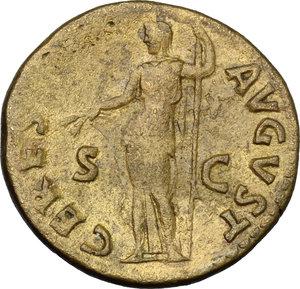 reverse: Titus (79-81).. AE Dupondius, Rome mint, 80-81