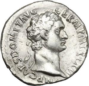 obverse: Domitian (81-96).. AR Denarius, 92-93 AD