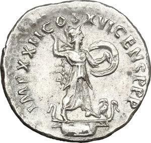 reverse: Domitian (81-96).. AR Denarius, 92-93 AD